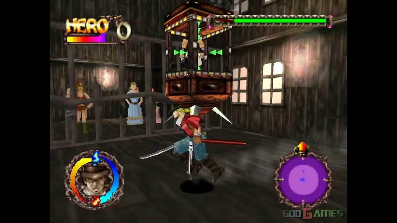 Rising Zan: The Samurai Gunman - Gameplay PSX / PS1 / PS One / HD 720P  (Epsxe) by John GodGames