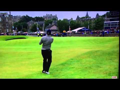 Jordan Spieth - Long Pitch Shot (2015 Open)