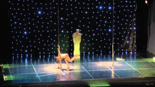Kseniia - Greek Pole Dance Championship 2016 by Rad Polewear - Professional Division Champion