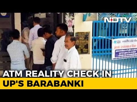 Cash Crunch In Smaller Towns? UP Reality Check