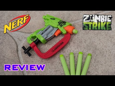 [REVIEW] Nerf Zombie Strike Clampdown Review & Firing Test