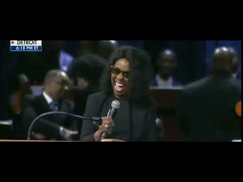 """Gladys Knight """"Bridge Over Troubled Water"""" (2018) Aretha Franklin Funeral"""