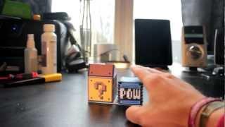 Pneumatic Papercraft: Mario POW block
