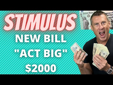 NEW STIMULUS CHECKS ACT BIG $2000 Biden Stimulus Check Update + SSI SSDI $2000 Unemployment Funds