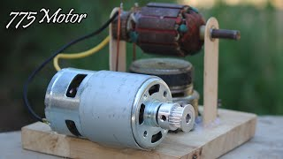 Build A Electric Free Energy Generator 100% Self Running Using 775 Motor