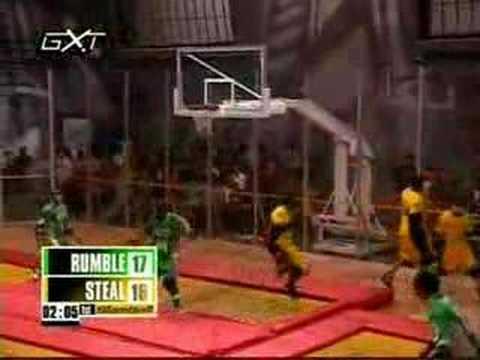 Slamball Whitney White vs Sten Fletcher