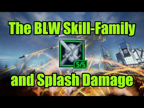 The Be Like Water Skill-Family and Splash Damage