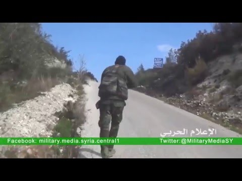 Syrian army control over new areas Brive Latakia