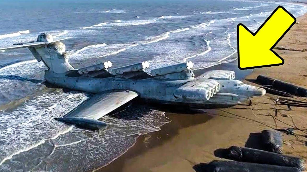 Monstro do Mar Cáspio: Conheça o Fim de um dos Maiores Aviões do Mundo
