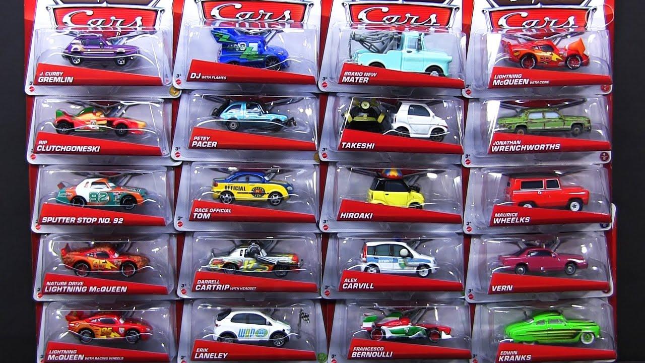 DISNEY PIXAR CARS SUPER CHASE TAKESHI HIROAKI RIP CLUTCHGONESKI MAURICE WHEELKS