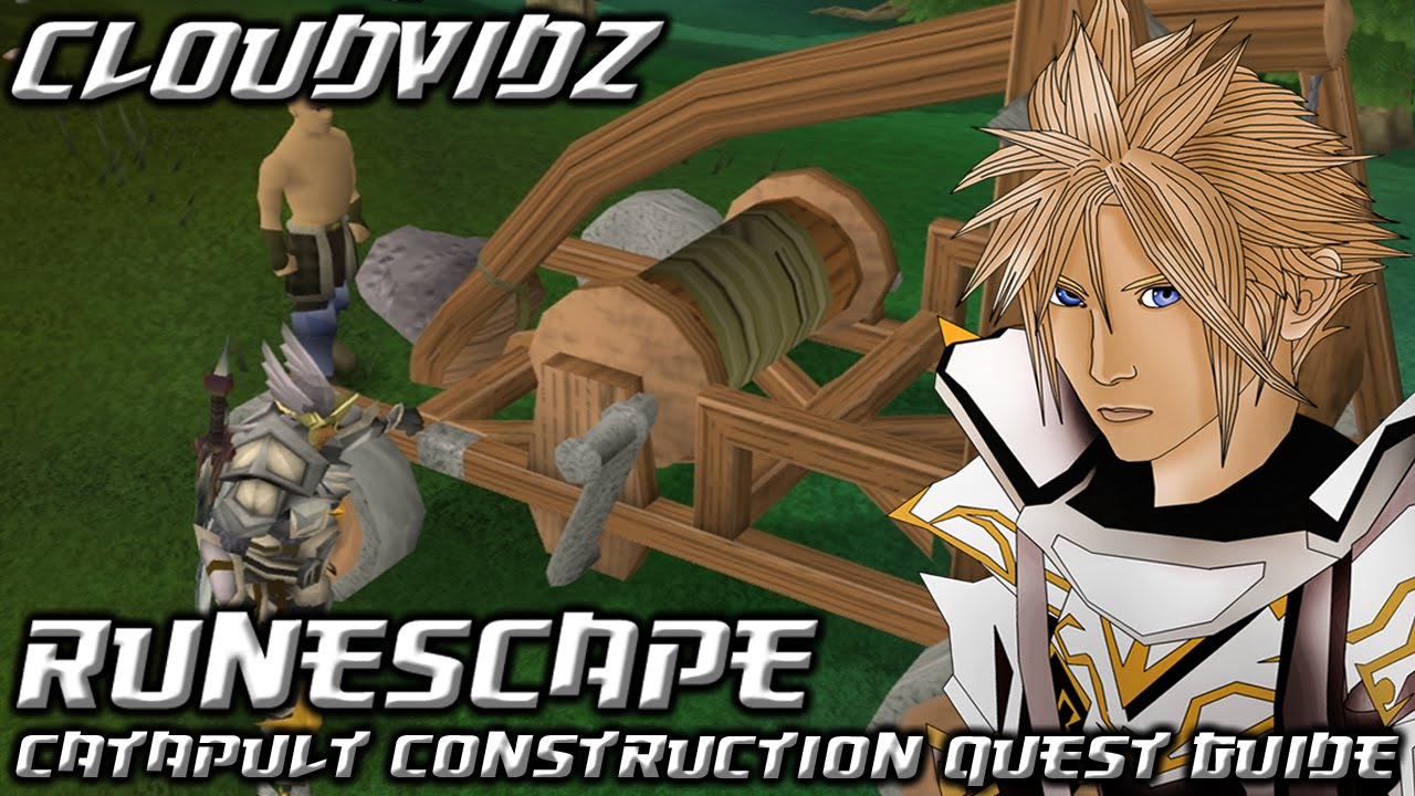 Catapult construction quest guide youtube.