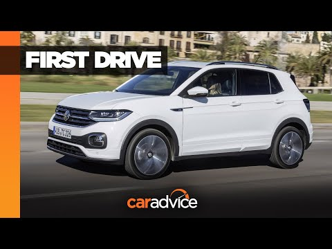 2020 Volkswagen T-Cross review   Small SUV test