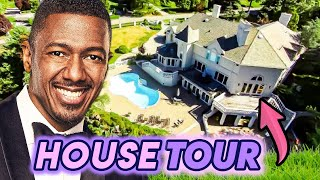 Nick Cannon House Tour New Jersey Estate San Diego Mansion Youtube