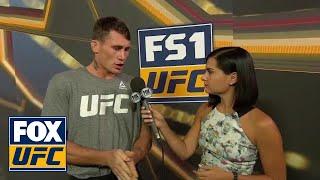 Darren Till talks to Megan Olivi   INTERVIEW   UFC FIGHT NIGHT