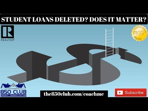 student-loans-deleted-or-on-report?-does-it-matter?---one,ultrafico,-personal,credit,2019