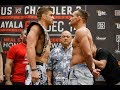 Bellator 212: Brent Primus vs. Michael Chandler Weigh-In Staredown - MMA Fighting