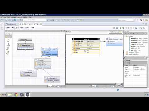 SAP HANA Academy - SPS 08 What's New: Modeling Graphical Calculation Views