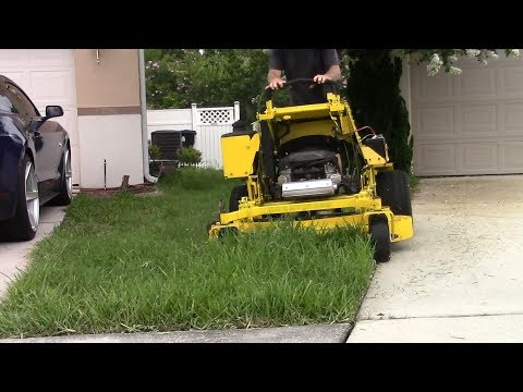 Lawn care vlog #44 Another tall grass & weeds clean up!!
