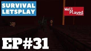 "Minecraft Survival Letsplay Ep31 ""Nether Fun"""