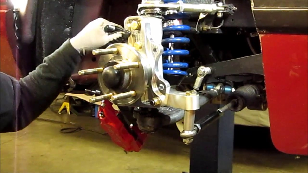 Mustang Ecoboost Upgrades >> Ecoboost Foxbody SVO Mustang Griggs Racing Spindles - YouTube