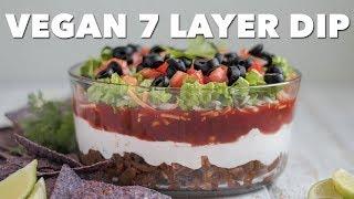 Vegan 7 Layer Dip | Two Market Girls