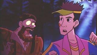 rave in the redwoods intro cinematic cutscene infinite warfare zombies dlc 1 trailer