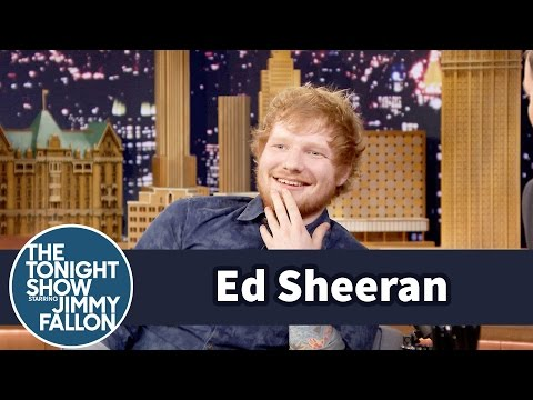 Ed Sheeran Ate Dive-Bar Pizza with Jay Z and Beyonc�