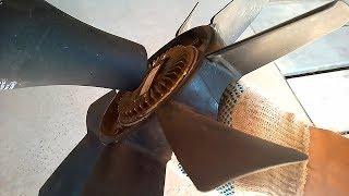 Як перевірити вискомуфту вентилятора охолодження (принцип роботи вязкостной муфти)