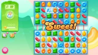 🍭🍬Candy crash jelly LV018 Прохождение, уровень 18, три в ряд, развивающая игра на андроид