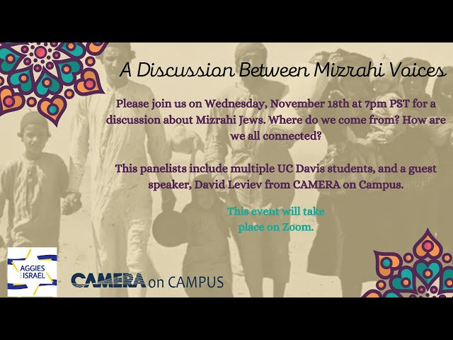A Discussion between Mizrahi Voices