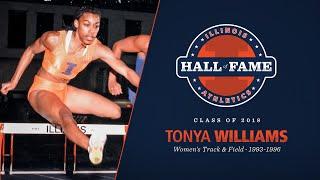 Tonya Williams - 2018 Illinois Athletics Hall of Fame