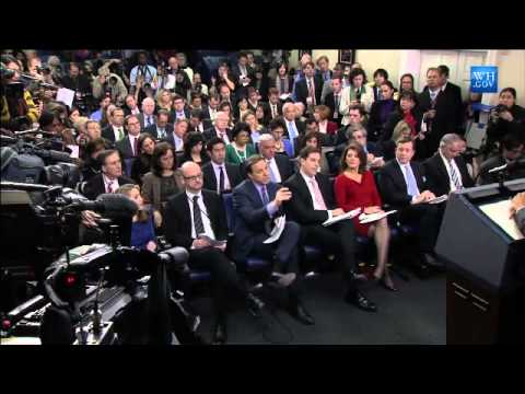 Obama News Conference On Iran-Full Video