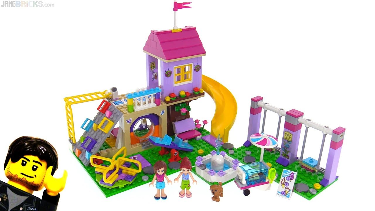 Lego Friends Fan Inspired Heartlake City Playground Reviewed