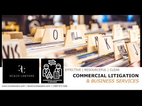 RC & Co Lawyers | Commercial Litigation and Business Services