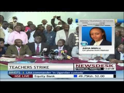 KNUT and KUPPET present their demands to an Industrial Court Judge