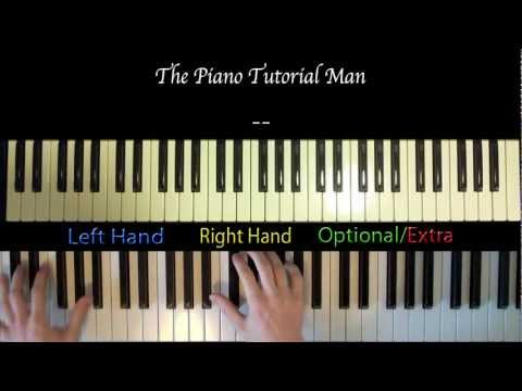 How To Play : Boyfriend By Justin Bieber - Piano & Vocals - PTM