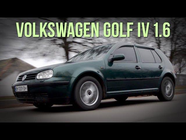 Volkswagen Golf 4 - все ЗА и ПРОТИВ #SRT