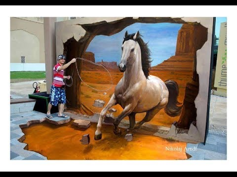 Amazing 3D Street Art & Painting From Around The World | ANYTHING ANYWHERE