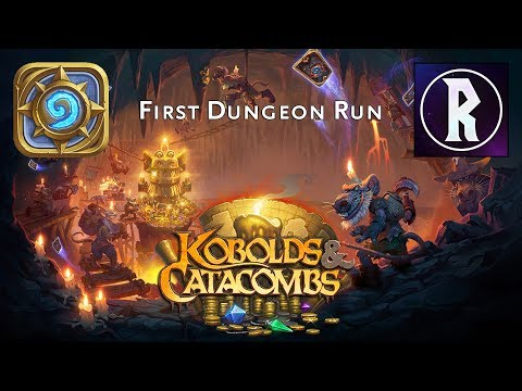 Hearthstone: Kobolds & Catacombs - First Dungeon Run, Part I