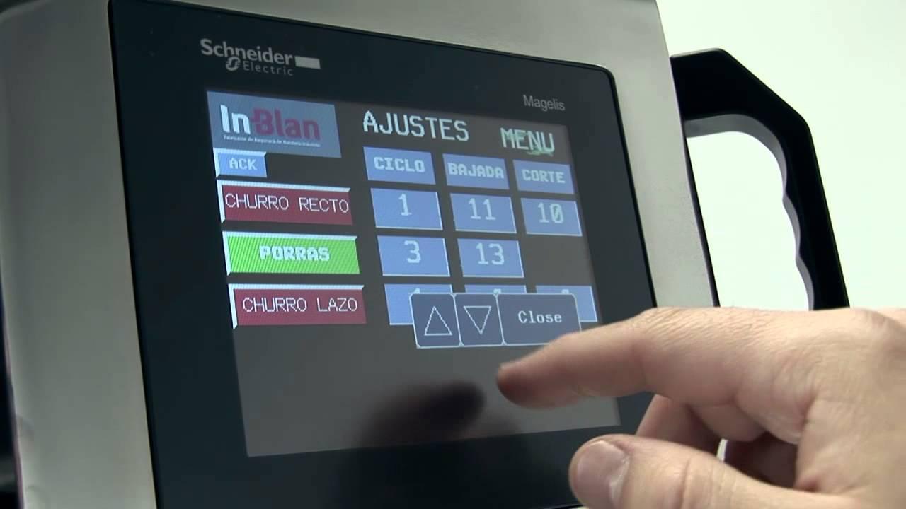 Machine Digital Automatique Churros HD (French) - YouTube