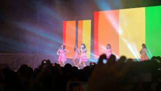 131025 Apink at Singapore Expo Vizit Korea: Bubibu (perf part 3) [fancam]