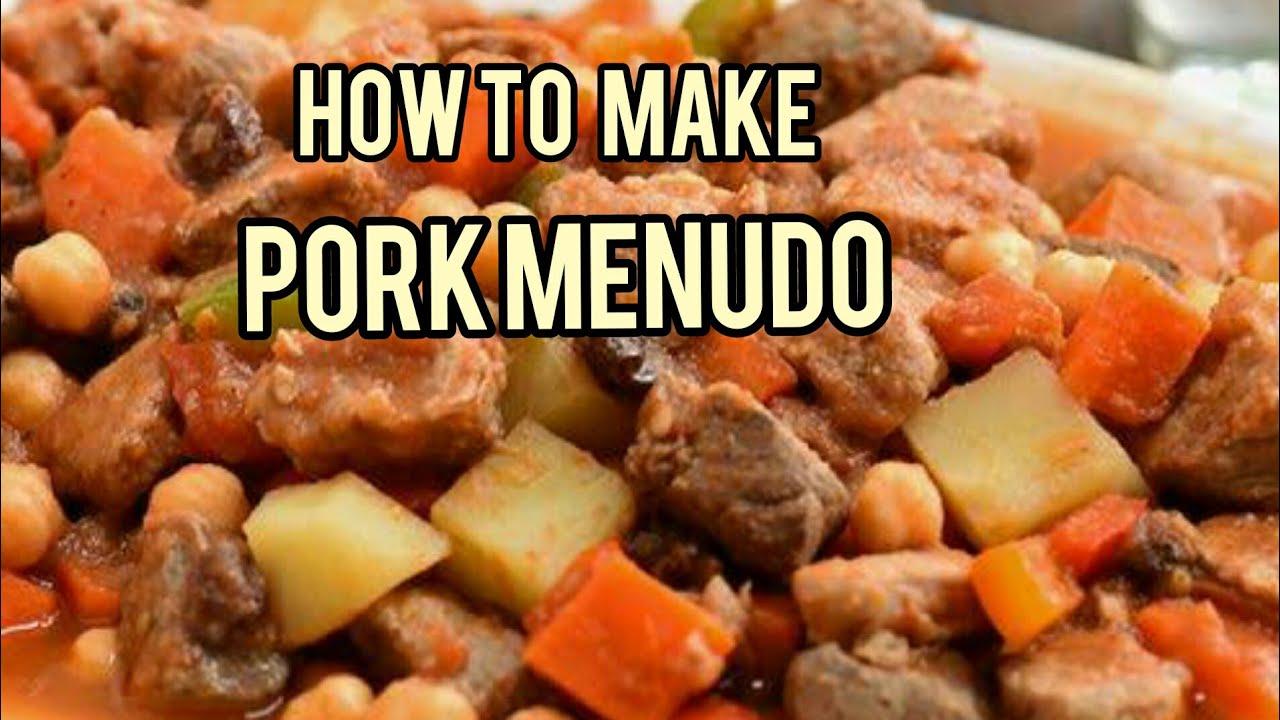 how to make easy menudo
