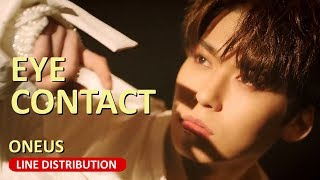 How will oneus' eye contact line distribution end up? artist : oneus (원어스) song: album: light us release date: janurary 9th 2019 no copyright inf...