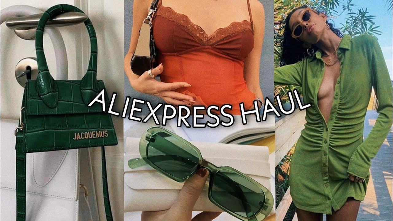 *a very green* SPRING ALIEXPRESS BADDIE ON A BUDGET HAUL 2021