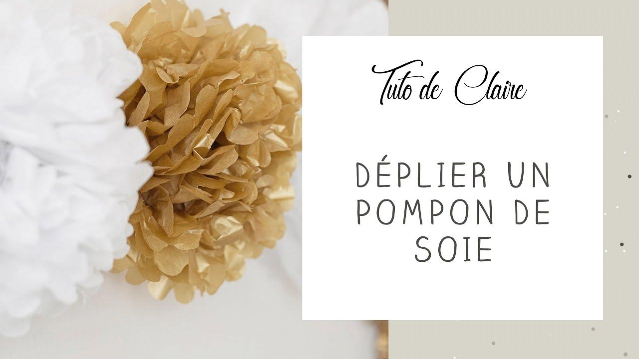 Tuto Fleur Decoration En Papier De Soie
