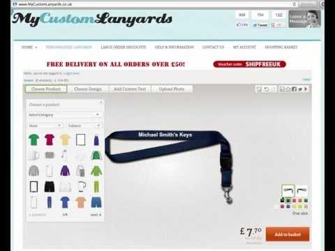 Printed Lanyards - Design Your OWN Printed Lanyards Online!