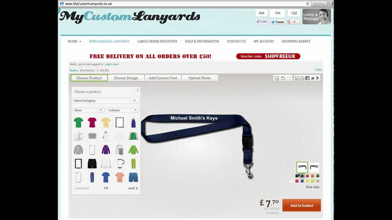 printed lanyards design your own printed lanyards online youtube