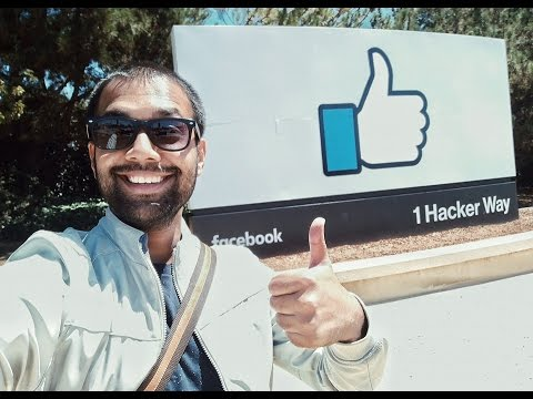 Gadgetwala's Virtual Tour of Facebook Campus, Palo Alto, San Francisco