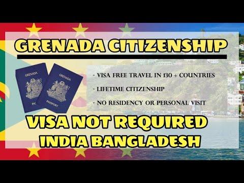 Grenada Visa Not Required Indians Easy Grenada Citizenship Residency Second Passport.