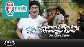 "Video ANJI - Suasana Launching ""Menunggu Kamu"" Ost. Jelita Sejuba download MP3, 3GP, MP4, WEBM, AVI, FLV Agustus 2018"